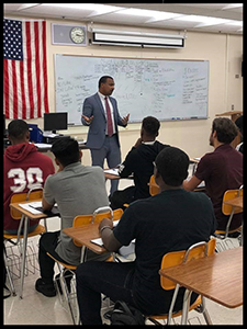 Guest Speaker at Palm Beach Lakes High School